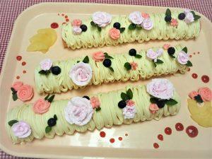 母ケーキ3本